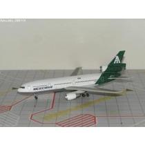 Dc 10 Mexicana De Aviacion, 1.400 Jet X, Verde Con Grecas