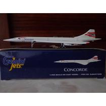 Avion Concorde De British Airways Escala 1:400 Gemini Jets