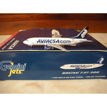 Boeing 737-300 De Aviacsa De Gemini Jets Nuevo Escala 1:400