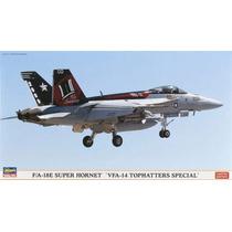 F/a-18e Super Hornet Vfa-14 Hasegawa 1/72 Nuevo Caja Sellada