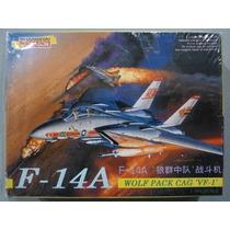 F-14 A Wolf Pack Cag Vf1 Dragon 1/144 Envío Gratis