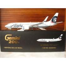 Boeing 737-800(s) Alazka Gemini200 Esc 1:200 Gemini Jets