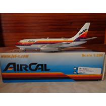 Avion Boeing 737-200 De Aircal Esc 1:200 Jet-x Gemini Jets
