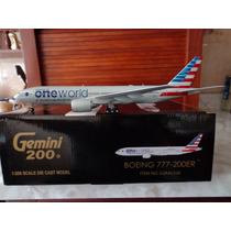 Avion Boeing 777-200er American Gemini200 1:200 Gemini Jets