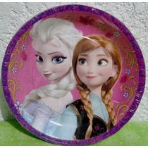 Platos O Vasos Fiesta Disney Fronzen Una Aventura Congelada