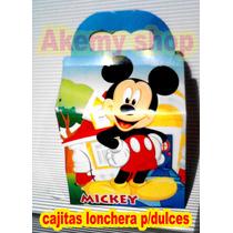 Mickey Mouse Club 10 Loncheras Dulceros Articulos De Fiesta