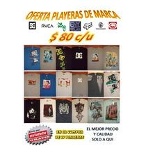 Playeras Ecko Lrg Roca Wear Dc Rvca Enyoce Nuevas Oferta