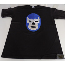 Blue Demon Playera Mod Mascara Talla M-g-xl Lucha Danbr68