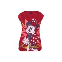 Playera Blusa Para Mujer Mimi Minnie Mouse Gde 9/11