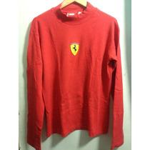 Playera Escuderia Ferrari Roja Talla: M Autentica