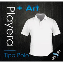 Playera Tipo Polo Dry Fit Incluye Tu Logotipo Sin Costo!!
