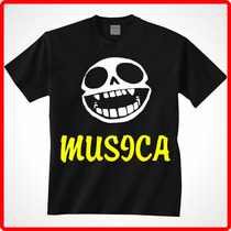 Playeras Estampadas Musica Rock Pop Electro Metal Logos Djs