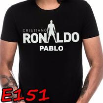 Playera Cristiano Ronaldo Cr7 Personalizada E151