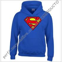 Sudadera Superman Azul Rey Superman Hoddie Comics Zsnw