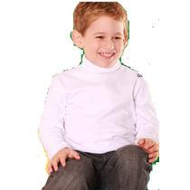 ** Playera Cuello De Tortuga. **niño/niña . Mdn