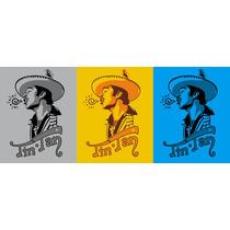 Playeras: Tin Tan, Mauricio Garces, Capulina, Cantinflas Vv4