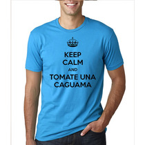 Playera Keep Calm (caguama) - Unisex