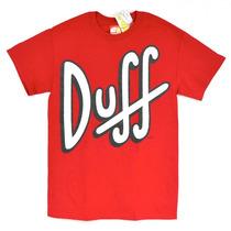 Duff The Simpsons Playera 100% Original