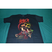 Playera Slayer - Skull Jesus -