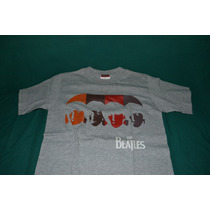 Playera The Beatles - Faces - (bajo Licencia De Winterland)