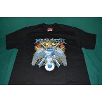 Playera Megadeth - Eagle - (bajo Licencia De Winterland)