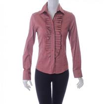 Blusa De Rayas Zara Woman
