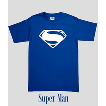 Playera Super Heroes Vinil Estampado Comic
