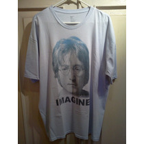 Playera Gap. John Lennon - Imagine. Azul Cielo. Talla Xl.