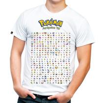 Super Camisa O Playera Pokemon Todos Los Pokemon!!!