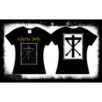 Christian Death - Crucifix Camiseta Y Blusa Deathrock Gotico