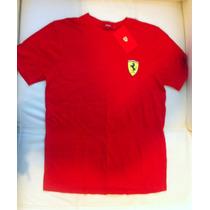 Playera Ferrari Red Unisex M