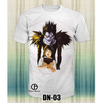 Playeras Death Note Anime Ryuk Kira Misa Amane Oferta 3x2 ¡¡