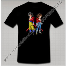 Playera Dragon Ball Gt Playera Goku Vegeta Sayayin 4 Fwxz
