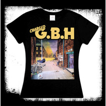 G.b.h. - City Baby Attacked Camiseta O Blusa Gbh Punk Oi!