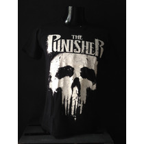 Playera The Punisher El Castigador Creed Máscara De Látex