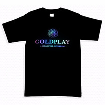 Playera Audioritmica Luminsa De Colplay En Talla Ch M Y G!!