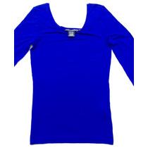 Playera Azul Polo Ralph Lauren Sport Mujer Mediana Original