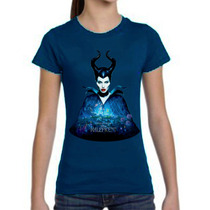Playeras O Camiseta Disney Malefica Edicion Especial 100%