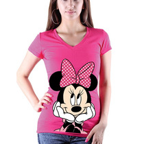 Playeras O Minnie Todas Las Tallas!!!!!!