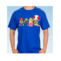 Playera Camiseta Minion Mario Bross 1 O 2