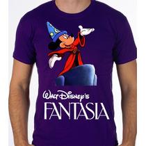 Playeras O Camiseta Disney Fantasia Edicion Especial 100%