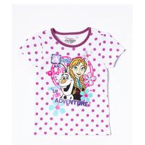 Playera Olaf Anna Elsa Frozen Disney Hermosa! Talla 4/5