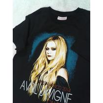 Playera Avril Lavigne Concierto 100% Nueva Doble Estampado