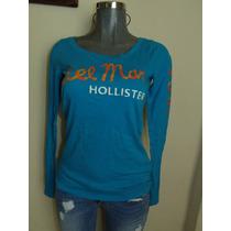 Blusas Hollister Co. T-m Nueva Original