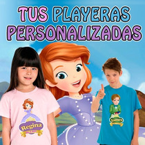 Playeras Princesa Sofia A Todo Color Super Dsctos Al Mayoreo