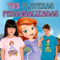 Playeras Princesa Sofia A Todo Color Super Dsctos Al Mayoreo