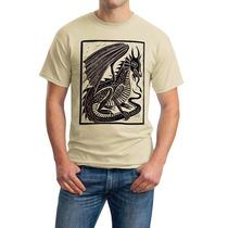 Playeras O Camiseta Dragon Medieval 100% Nueva