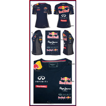 Playera Dama Infiniti Red Bull Racing Genuina 2015 Blusa