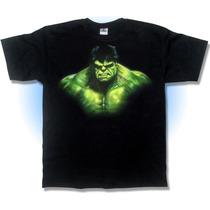 Playera, Hulk Retrato, Arte, Aerografia, Regalo Hombre Verde