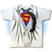 Playera Camisa De Superman, Playa, Fiesta, Disfraz, Cosplay